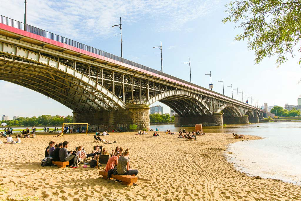 Vistula Warsaw Beach