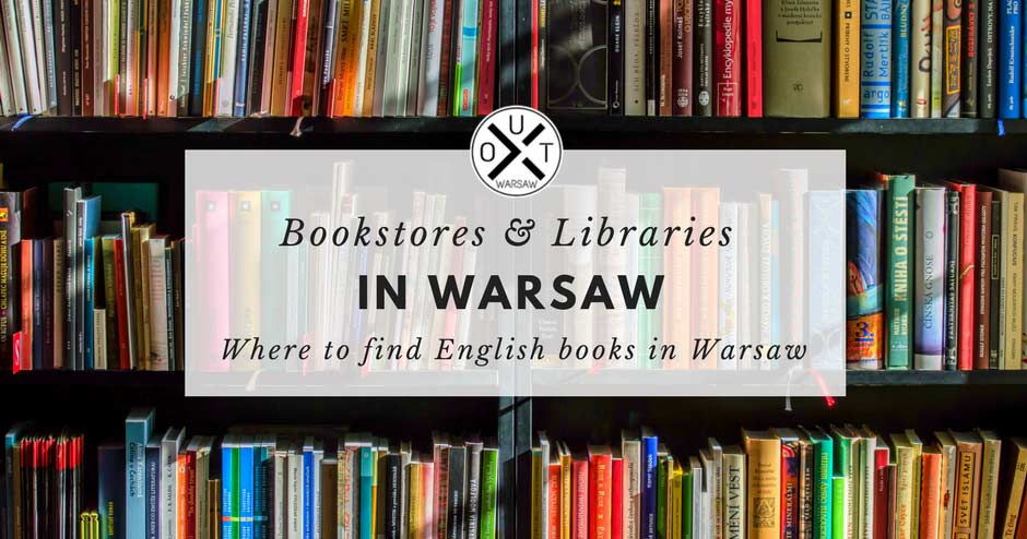 English bookstores in Warsaw